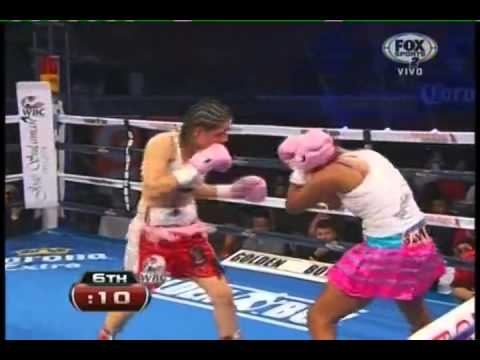 Yazmin RIVAS vs Calixta SILGADO - WBC - Full Fight - Pelea Completa