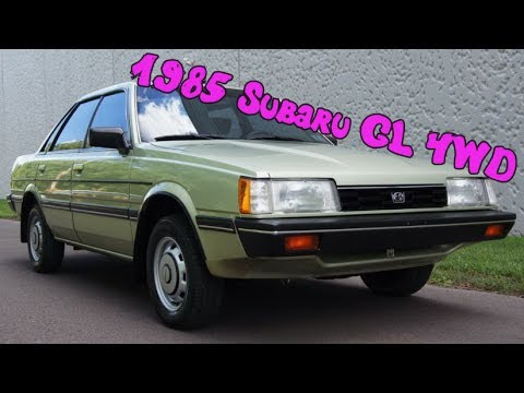 Subaru Gl Door Sedan Only Miles Youtube