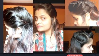 Easy  party hairstyle for girls 2019 hairstyle for girls hairstyle easy