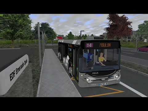 Addon GPM | Ligne 14 Moulon ☆ Let's Play OMSI 2 |