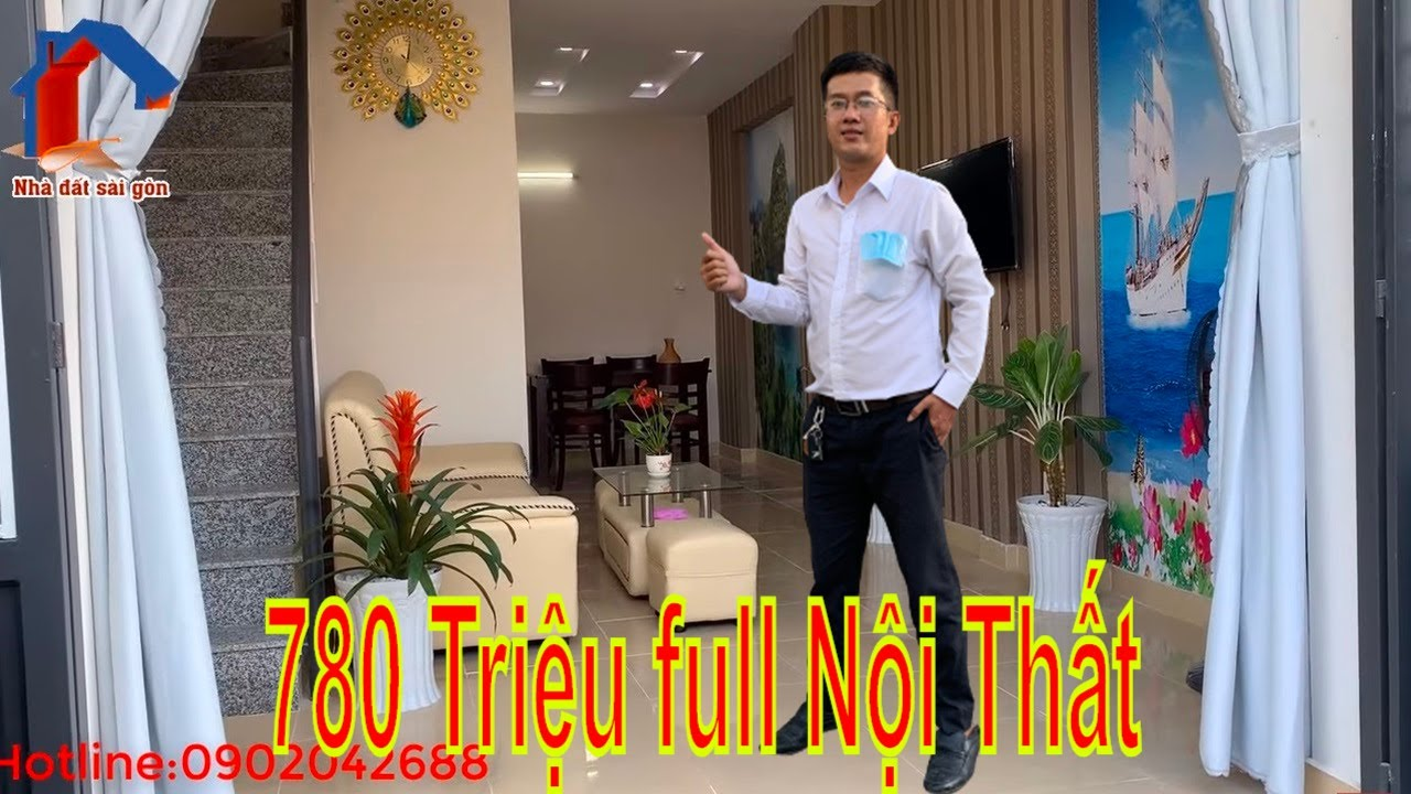 Nhà Đất Bình Chánh Giá Rẻ Nhất 2020 – 680 Triệu Full Nội Thất – Sổ Hồng Riêng