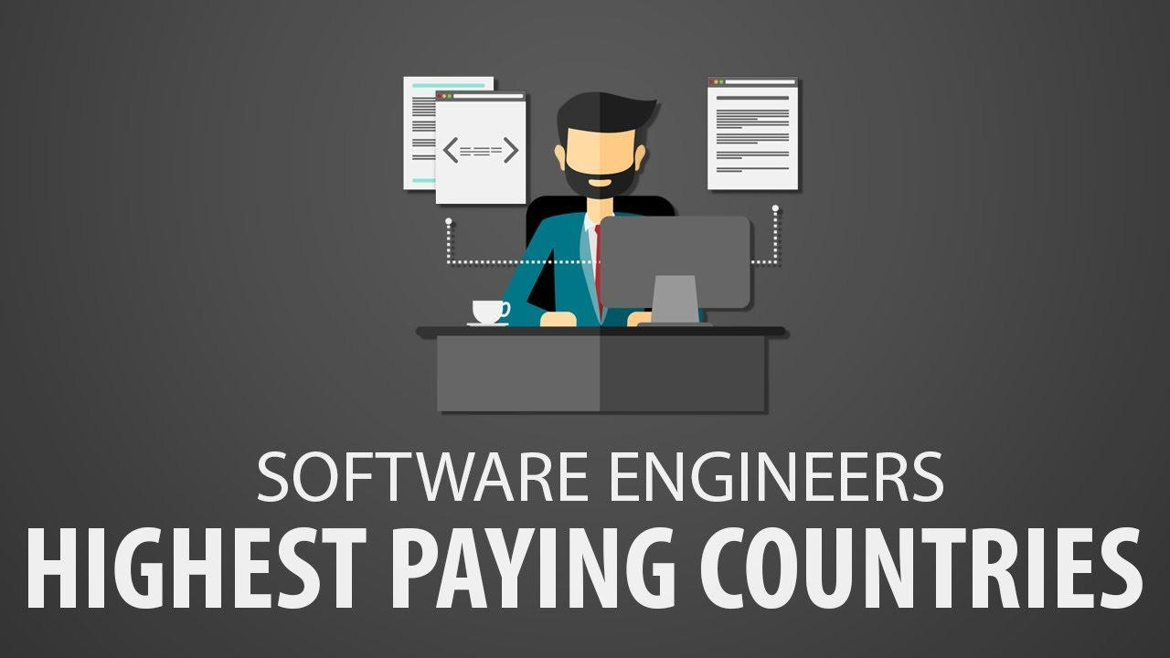 Highest Paying Countries for Software Engineer (Software engineer salary)