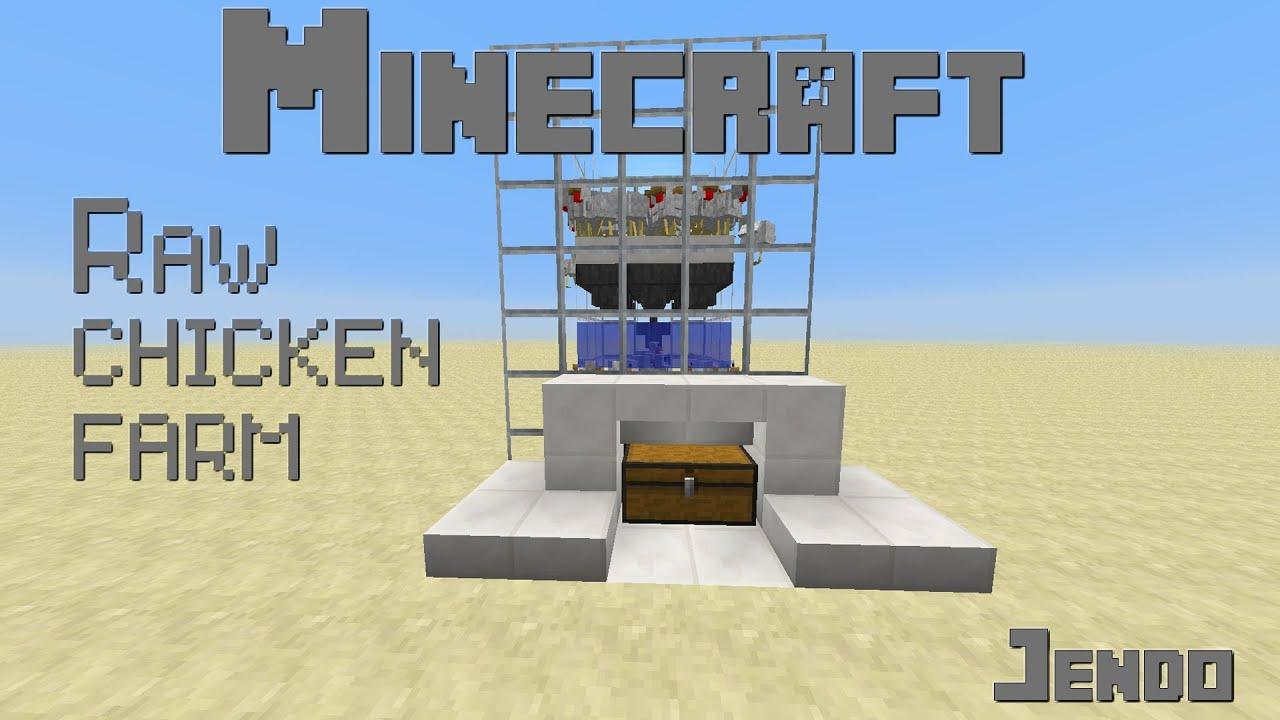 farming chickens minecraft