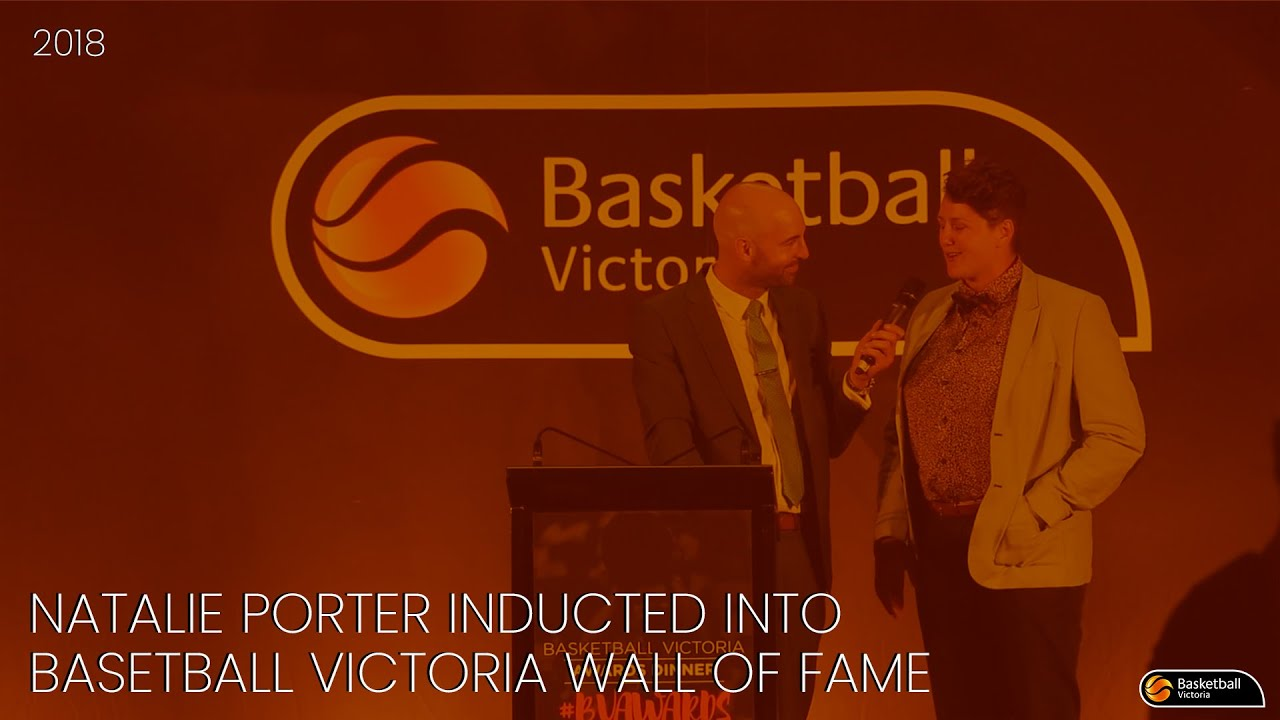 Natalie Porter inducted to BV Wall of Fame - Basketball