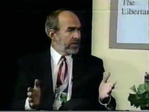 Andre Marrou, Libertarian for President on Ann Arbor TV, 1992