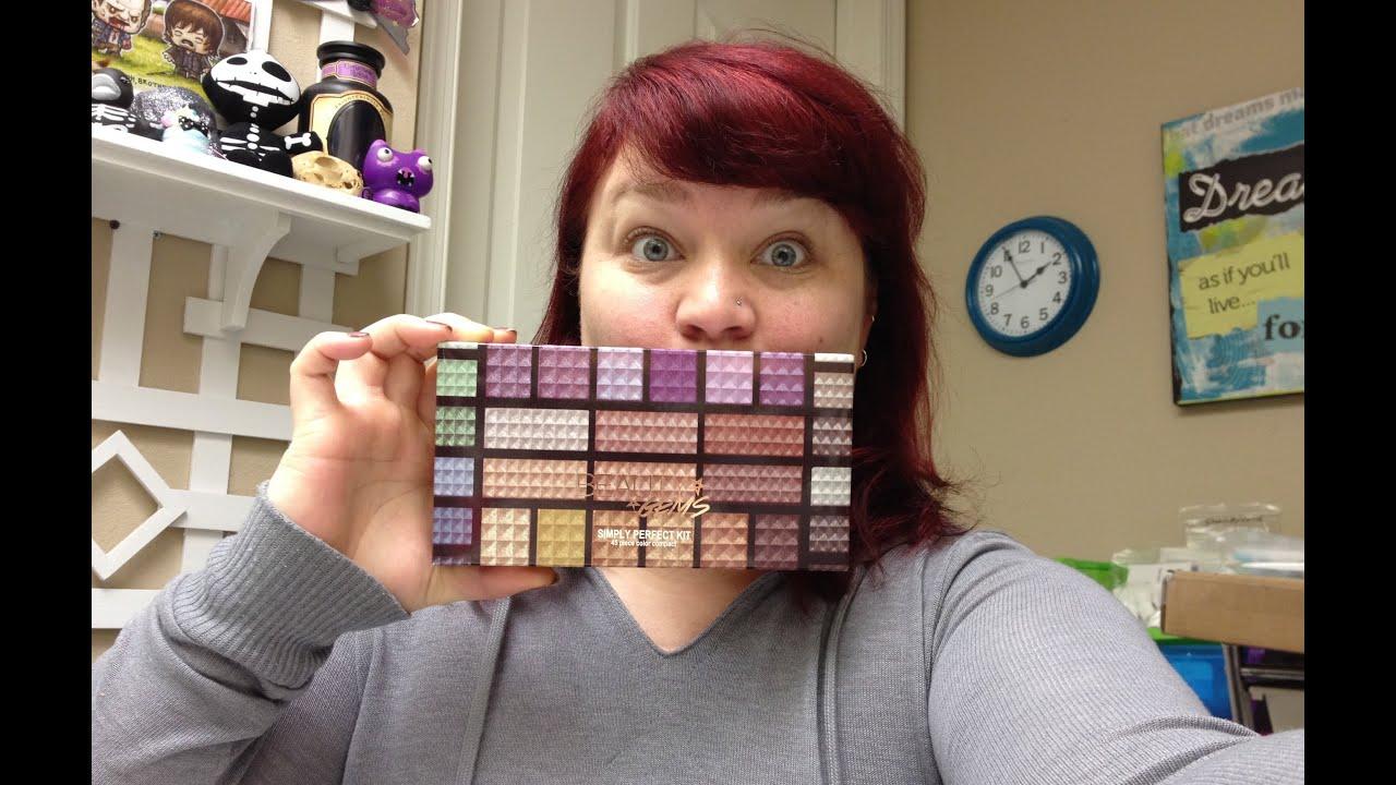 Ulta's Beauty Gems Shimmer Eyeshadow Palette Review