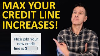 Credit Limit Increases  How to Get Highest Credit Card Lines from Amex, Chase, Capital One, Citi...