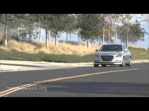 MotorWeek Quick Spin 2015 Hyundai Genesis