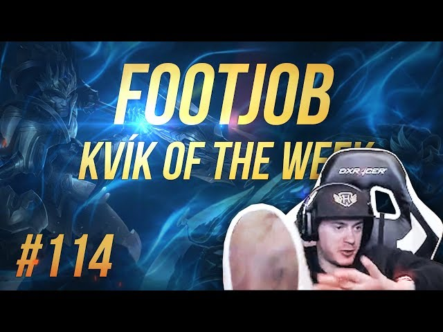 Kvík of the Week #114 - FOOTJOB ZA PENÍZE