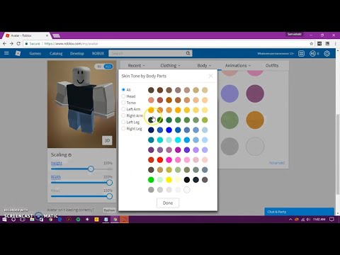 How To Get Extra Skin Tones In Roblox Avatar Youtube
