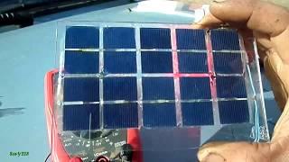 видео Самостоятельная сборка солнечной батареи из фотоэлементов