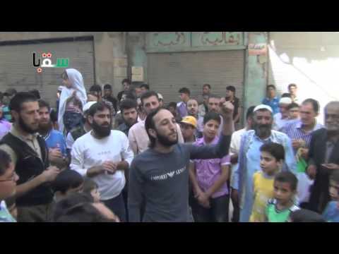 دمشق | سقبا • جمعة ميثاق الشرف الثوري يمثلنا 23-5-2014