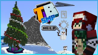 Playing in the Winter Wonderland! Truly Bedrock SMP | Season 2