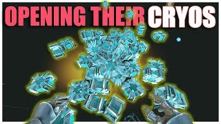 OPENING ENEMY CRYOS! SMALL TRIBES S4E39 | Ark: Survival Evolved
