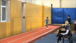 Прыжки на акробатической дорожке - 05.10.12