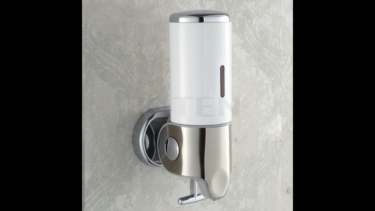 Дозатор для жидкого мыла настенный своими руками