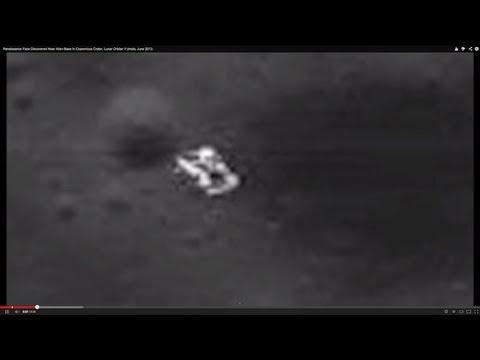 Alien Base In Copernicus Crater Near Face, Lunar Orbiter V photo, June 2013.