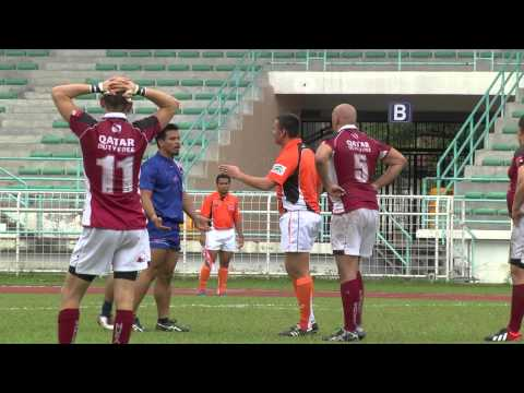 HSBC A5N D3 Final: Guam v Qatar 1st Half