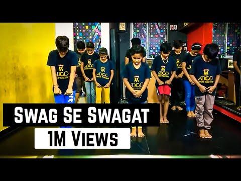 Swag Se Swagat | Tiger Zinda Hai | Salman Khan | Katrina Kaif | Dance | ABCD Dance Factory