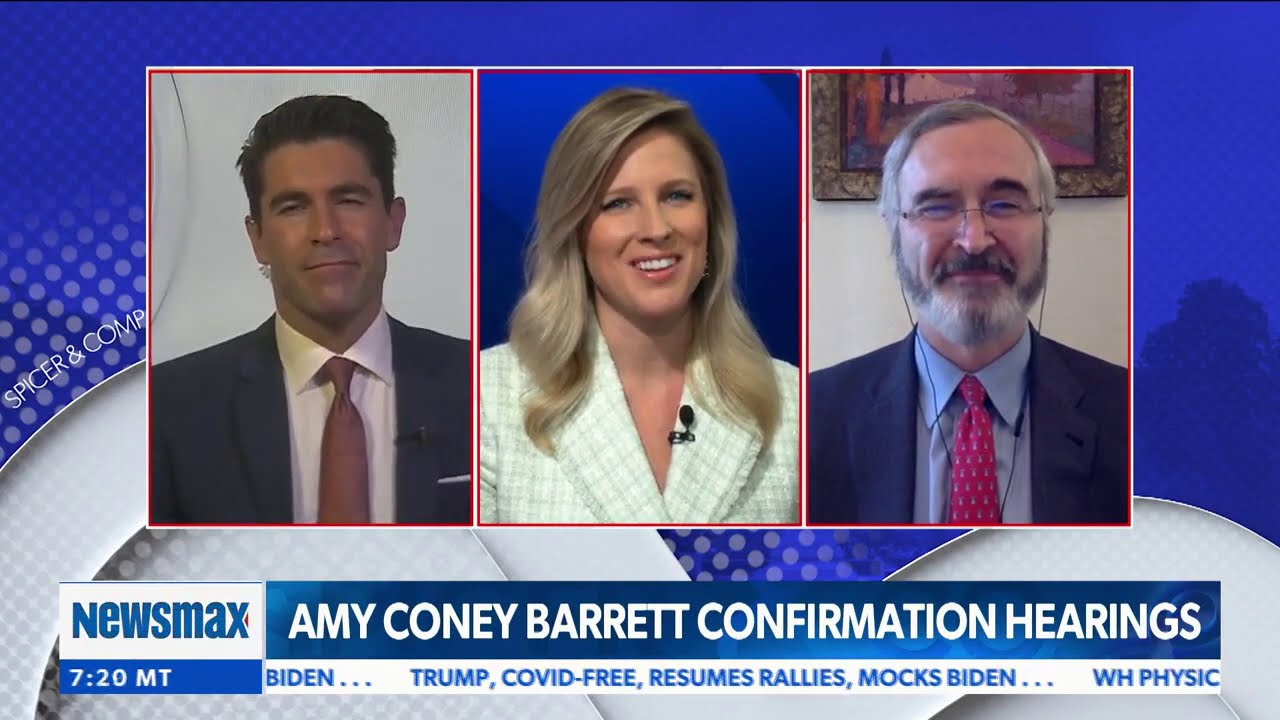 Democrats Can T Attack Amy Coney Barrett Because Of Her Impeccable Credentials John Malcolm Youtube