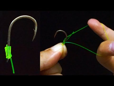 Fishing Knot/How To Tie A Hook(3 Ways To Tie Hooks)