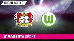 Bayer Leverkusen - VfL Wolfsburg | 11. Spieltag, 19/20 | MAGENTA SPORT