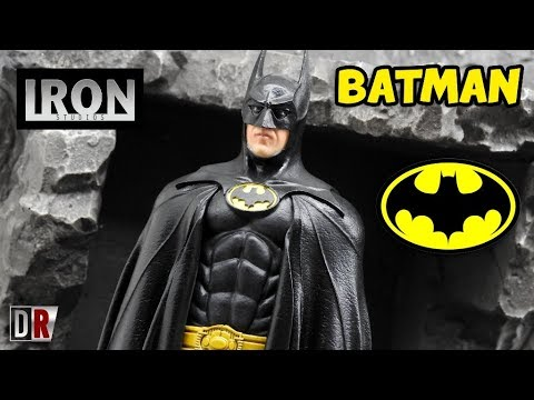 Iron Studios BATMAN Review BR / DiegoHDM
