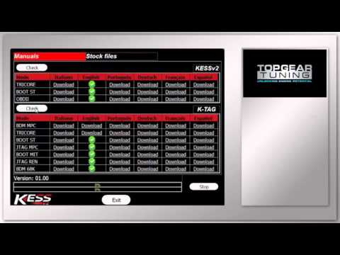KESS V2 and KTAG log files and help manuals - Topgear Tuning Demonstration Video 5