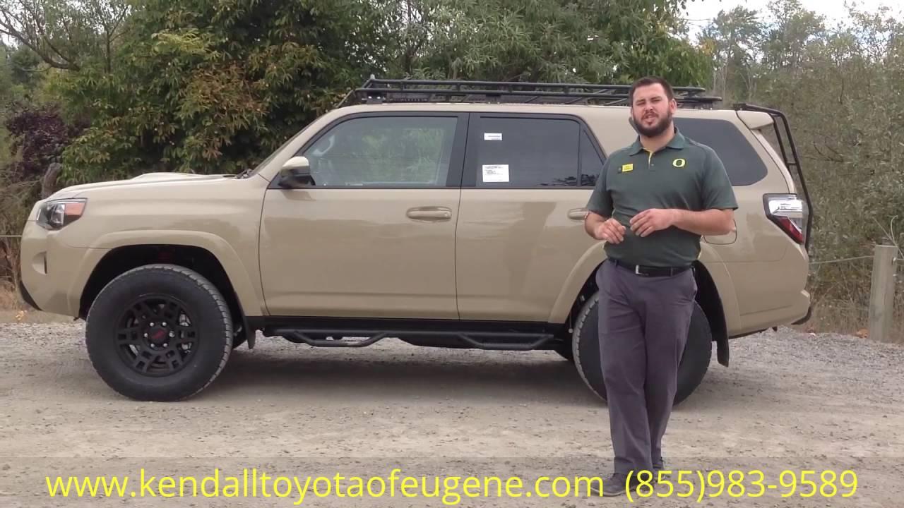 2016 Toyota 4RUNNER TRD PRO Quicksand - YouTube