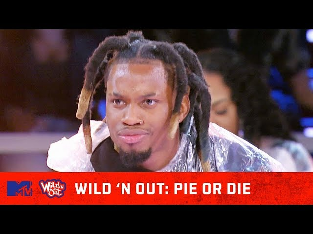Emmanuel Hudson Puts An End To Getting Pied  🍰 w/ Denzel Curry | Wild 'N Out | #PieOrDie
