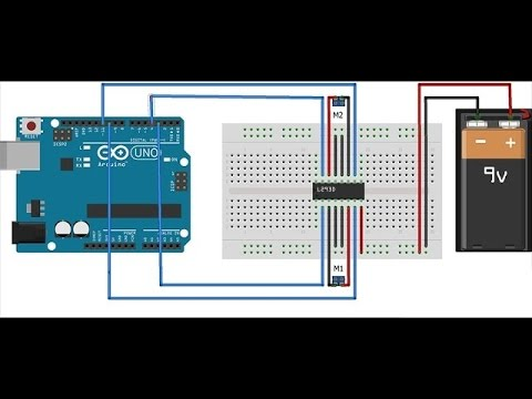 How To Make A Line Follower With L293d Ic And Arduino Uno