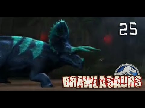 T-Rex and Triceratops | BRAWLASAURS RETURN | Jurassic World: The Game [Episode 25]