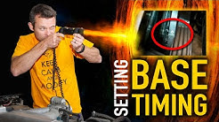 How To Use a Timing Light + Base Timing Setup | TECHNICALLY SPEAKING
