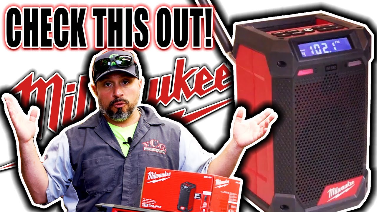 Milwaukee M12 Compact Jobsite Radio & Charger YOU NEED TO SEE THIS!