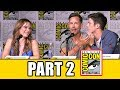 THE FLASH Season 3 Comic Con Panel (Part 2) - Grant Gustin, Candice Patton, Keiynan Lonsdale