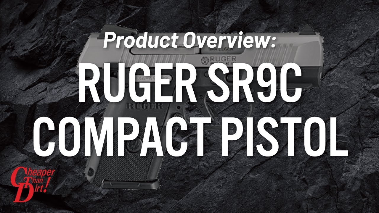 Product Overview: Ruger SR9c Compact Pistol