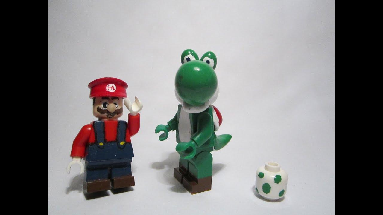Custom LEGO Yoshi - YouTube