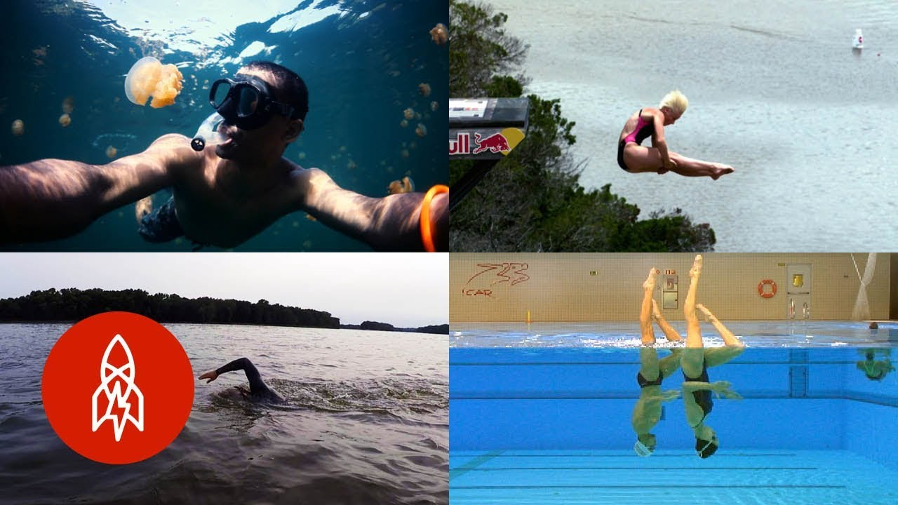 Diving Deep With 5 Incredible Swimmers