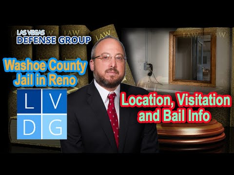 Washoe County Detention Facility | Reno NV Jail | Bail