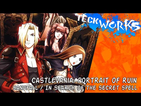 Castlevania: Portrait of Ruin - Sandfall/In Search of the Secret Spell [teckworks cover]