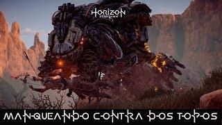MANQUEANDO EN HORIZON ZERO DAWN -ALOY VS TOPOS-