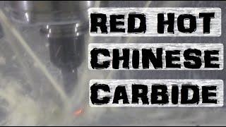 AR500 Hard Steel vs. Chinesium Carbide