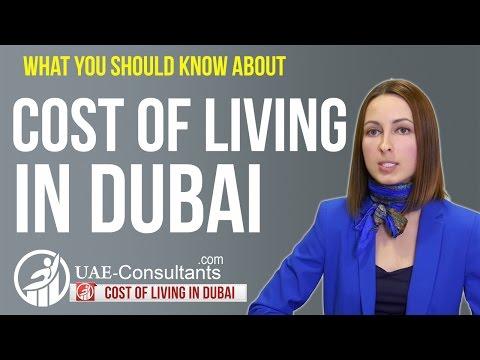 Cost of living in Dubai