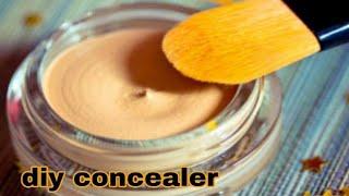 घर पर बनाएं कंसीलर आसानी से / diy concealer / homemade concealer/ghar par concealer kaise banaye
