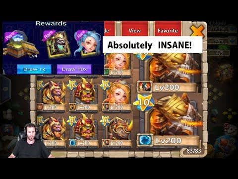$1000+ Events One Of The Best Accounts On Android NUTS Castle Clash