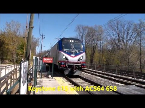 The Pennsylvanian train 42 and a Keystone Part 9