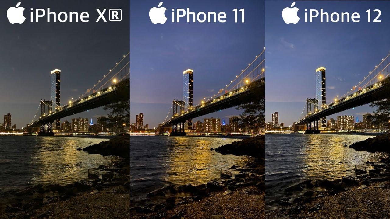iPhone 12 vs iPhone 11 vs iPhone XR | Camera Test - YouTube