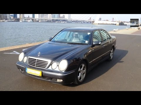 mercedes-benz e class 270 cdi start up drive in depth review