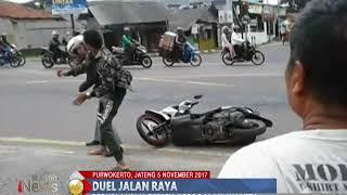 Tak Terima Istrinya Diikuti, Seorang Suami Terlibat Baku Hantam di Pinggir Jalan - BIP 06/11