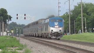Amtrak No. 3 (Southwest Chief) at Galesburg, IL - June 23, 2018